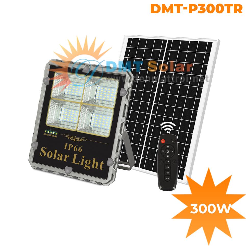 Đèn pha năng lượng mặt trời 300W DMT-P300TR