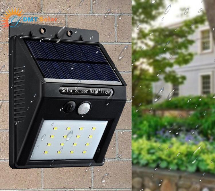 Đèn LED treo tường năng lượng mặt trời DMT-TT01